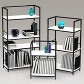 臥室置物架創意簡易鐵藝落地簡約現代臥室多層收納架 JD2996【KIKIKOKO】-TW