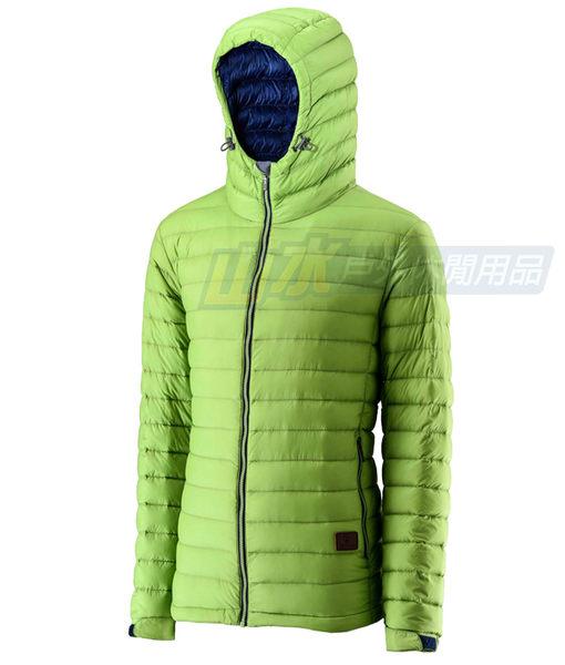 【山水網路商城】荒野 WILDLAND 男款 700FP連帽輕羽絨衣/輕羽絨/羽絨衣 0A22112 淺綠色