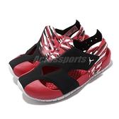 Nike 涼鞋 Jordan Flare PS 黑 紅 童鞋 中童鞋 涼拖鞋 小朋友 【ACS】 CI7849-016
