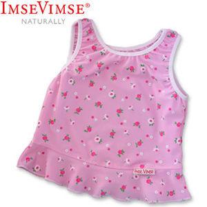 [衣林時尚] 瑞典 Imse Vimse游泳泳衣 粉紅小白花  瑞典原裝進口(歐盟製造)