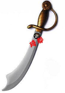 COS服裝海盜道具裝備道具武器加勒比海盜刀