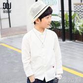 多多家童裝男童韓版翻領襯衫春秋裝休閒長袖打底襯衣上衣3600 至簡元素