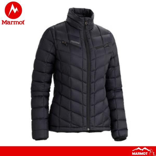 【Marmot 美國 女 羽絨外套《黑》】786700001/防風/防水/透氣/鴨絨/防風夾克/保暖外套