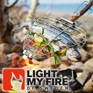 【Light My Fire 瑞典 野營燒烤夾】 LF30190-010/烤夾/烤肉/BBQ/戶外餐具