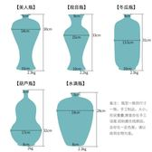 陶瓷花瓶中式窯變裂紋客廳裝飾品擺件