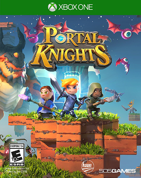 X1 Portal Knights: Gold Throne Edition 傳送騎士(美版代購)