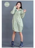 日式成人雨衣 女時尚徒步韓版連體雨披長款防水透氣風衣戶外旅游