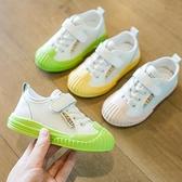 發光鞋-童鞋男童2021春季新款女童小白鞋兒童中大童時尚夜光軟底休閒板鞋