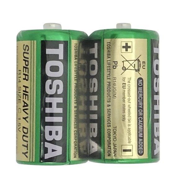 東芝環保電池1號2入