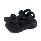 SKECHERS Arch Fit 運動型涼鞋 厚底 女鞋 黑色 140251BBK no326
