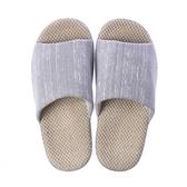 HOLA 舒適直紋盆底拖鞋-灰L