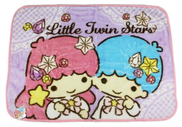 【卡漫城】 雙子星 毛毯 寶石 70x100cm ㊣版 Twin Stars Kikilala 斗蓬 冷氣毯 毯子 披風 薄毯 舒眠毯