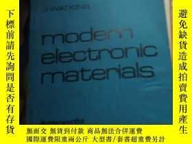 二手書博民逛書店modern罕見electronic materialsY16555 watkins london 出版19