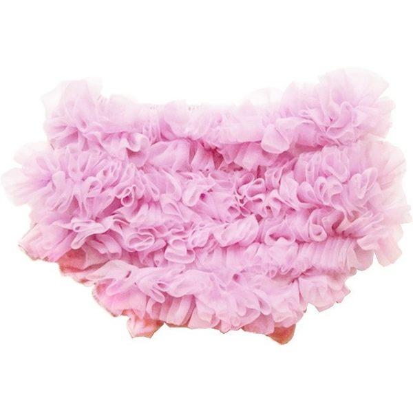 包屁/屁屁褲/學習褲  Huggalugs 雪紡包屁褲 亮粉紅雪紡包屁褲 Light Pink Chiffon Bloomers