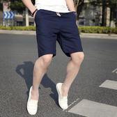 七分褲—夏季短褲男五分中褲夏天寬鬆休閒七分時尚潮流韓版個性大碼大褲衩 依夏嚴選