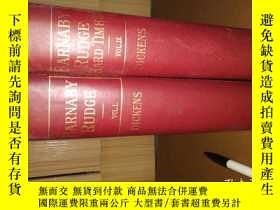 二手書博民逛書店BARNABY罕見RUDGE and hard times Ch