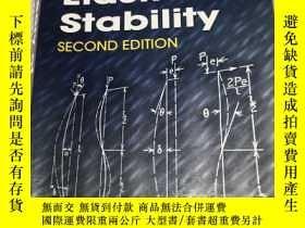 二手書博民逛書店Theory罕見of Elastic Stability 英文原版 鐵摩辛柯:彈性穩定理論 Stephen P T