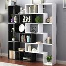 簡易書架書櫃落地兒童書架置物架展示櫃客廳酒櫃玄關隔斷格子櫃mbs「時尚彩紅屋」