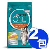 【寵物王國】普瑞納-ONE CAT 頂級貓乾糧(成貓泌尿保健雞肉配方)1.5kg x2包組