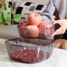 日本SPSAUCE雙層水果盤創意時尚塑料...