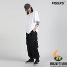 休閒褲保暖運動哈倫褲多口袋束腳褲男女【創世紀生活館】