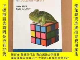 二手書博民逛書店management罕見accounting for decision makers 7th (英文原版)Y1