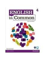 二手書博民逛書店 《English in Common 4 With Activebook》 R2Y ISBN:9780132627283│Clare