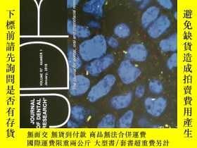 二手書博民逛書店Journal罕見of Dental Research (JDR) 牙科研究醫學學術雜誌 2018 01Y11