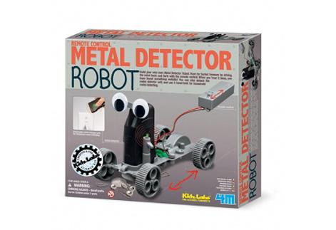 金屬探測機器人 尋寶達人 探索埋藏在土裡的寶藏 自己動手製作一個 採礦達人