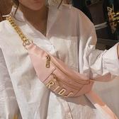上新小包包女包新款2020春季斜背包時尚錬條包蹦迪包時尚胸包女包 童趣屋