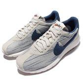 【六折特賣】Nike 休閒慢跑鞋 Wmns Roshe LD-1000 灰 藍 低筒 運動鞋 條紋 女鞋【PUMP306】 819843-006
