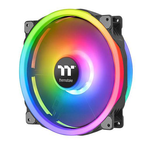 Thermaltake 曜越 Riing Trio 20 LED RGB 機殼風扇TT Premium頂級版 (單入) CL-F083-PL20SW-A