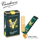 【2號中音薩克斯風竹片】【Vandoren V16 SR702】  【 深綠盒(10片/盒)】【Alto Sax】