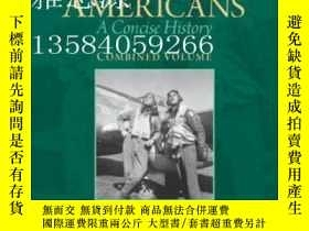 二手書博民逛書店【罕見】African Americans: A Concise