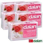 【土耳其dalan】粉柔玫瑰牛奶療浴皂  5入超值組