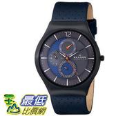 [104美國直購] Skagen 男士手錶 Men s SKW6149 Grenen Analog Display Analog Quartz Black Watch $5423