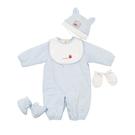 【愛的世界】鋪棉兩用嬰衣禮盒/6個月-台...