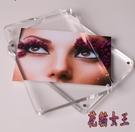 6寸亞克力相框 創意雙面透明A4證書獎狀框照片擺臺相框 BF23499【花貓女王】