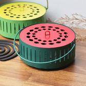【+O家窩】田園風吊掛式兩用蚊香盒-西瓜紅