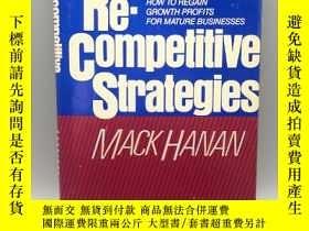 二手書博民逛書店【英文原版】Re-Competitive罕見Strategies