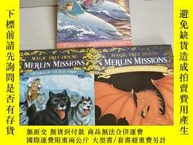 二手書博民逛書店Magic罕見Tree House (Dolphins at Daybreak+ Balto of the Blu