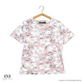 【INI】好感版型、好感版型設計花漾上衣.粉色
