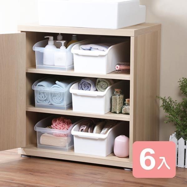 【南紡購物中心】《真心良品》卡菲附輪萬用收納盒5L-6入組