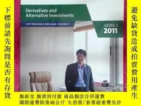 二手書博民逛書店Derivatives罕見and Alternative lnvestments 2011Y22725