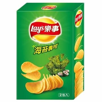 Lay's 樂事經濟盒 - 海苔 (160g/盒)【合迷雅好物超級商城】