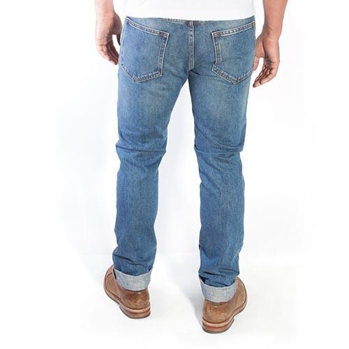 Deus Ex Machina Knox Straight 牛仔褲-藍