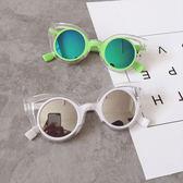 兒童男女童寶寶沙灘凹造型防紫外線太陽眼鏡墨鏡