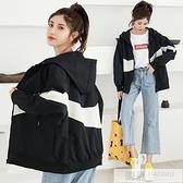 外套少女春秋裝2020新款初中高中學生韓版寬鬆百搭運動棒球服  母親節特惠