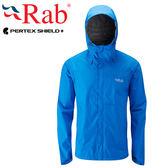 Rab 英國 QWF61-MY瑪雅藍 男高透氣防水外套 Downpour Jacket
