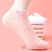 女士休閒潮流運動女短襪純棉百搭淺口低筒船襪春夏季薄款透氣網眼-米蘭街頭